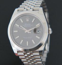 Rolex  Datejust 41  Dark Rhodium 126300