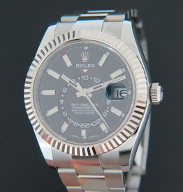 Rolex  Sky-Dweller 326934 Black Dial NEW