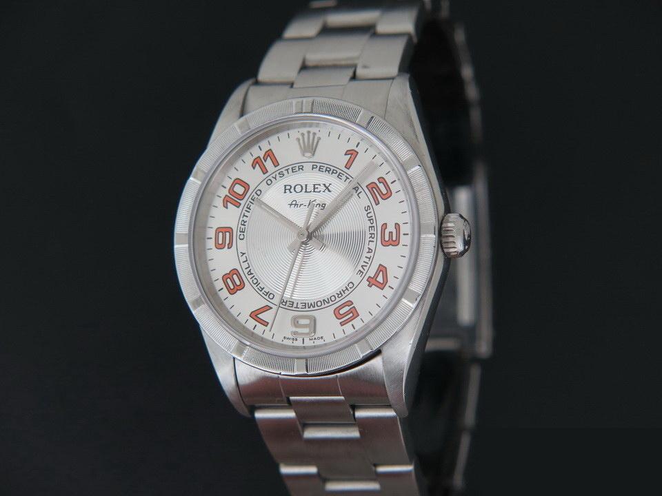 Rolex  Rolex Air-King Silver Dial 14010