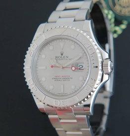 Rolex  Yacht-Master Platinum Dial 116622 NEW