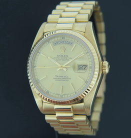 Rolex  Day-Date Yellow Gold Tiffany & Co. Full Set 18038