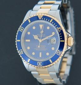 Rolex  Submariner Date 16613 Gold/Steel N-Serial Purple Dial