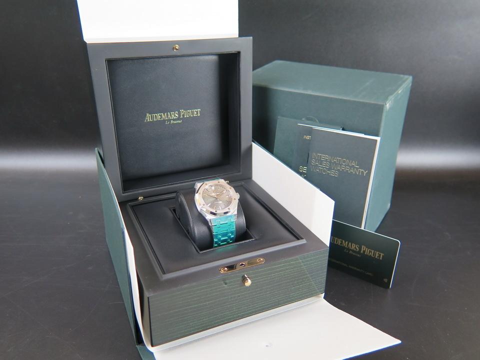 Audemars Piguet Audemars Piguet Royal Oak 15450ST.OO.1256ST.02  Rhodium Dial NEW