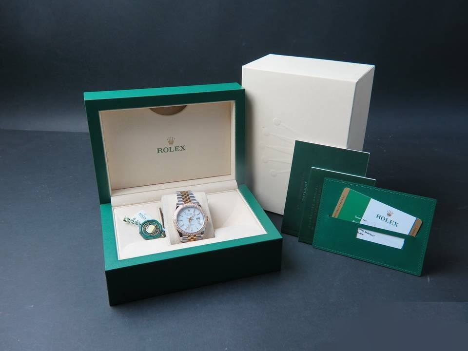 Rolex  Rolex Datejust NEW 126283RBR Gold/Steel White Dial