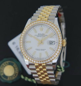 Rolex  Datejust NEW 126283RBR Gold/Steel White Dial