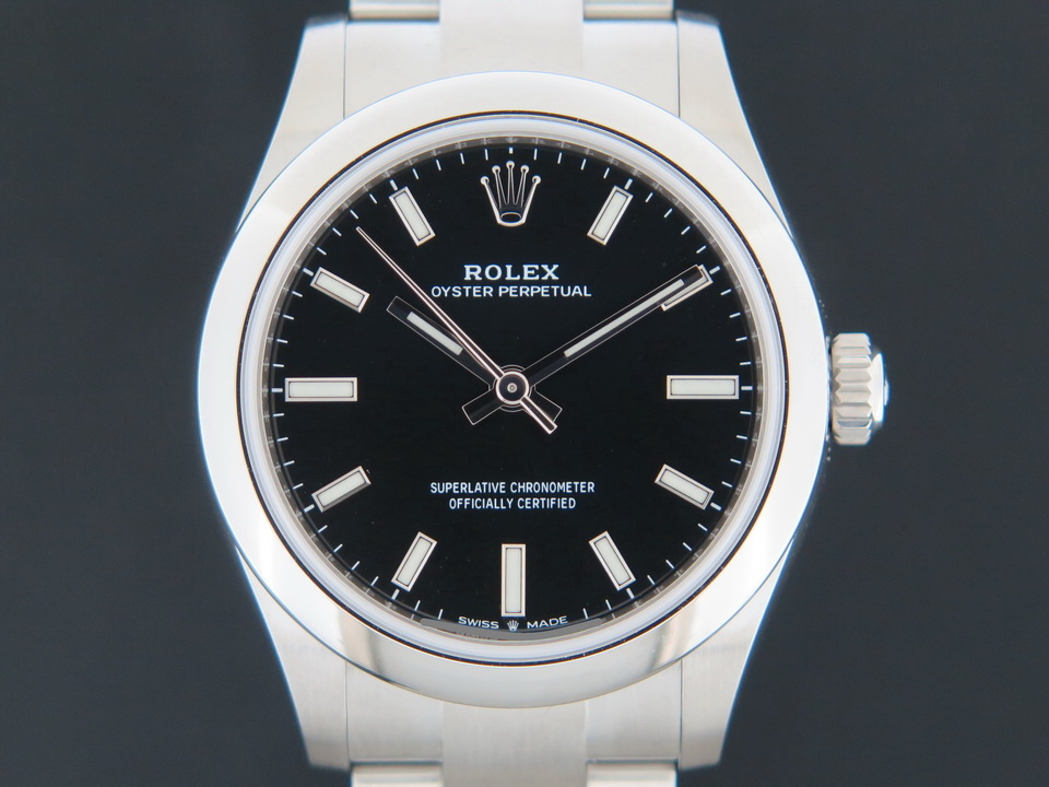 Rolex  Rolex Oyster Perpetual 31 Black Dial 277200 NEW