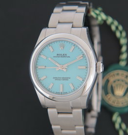 Rolex  Oyster Perpetual 31 Turquoise Dial 277200 NEW