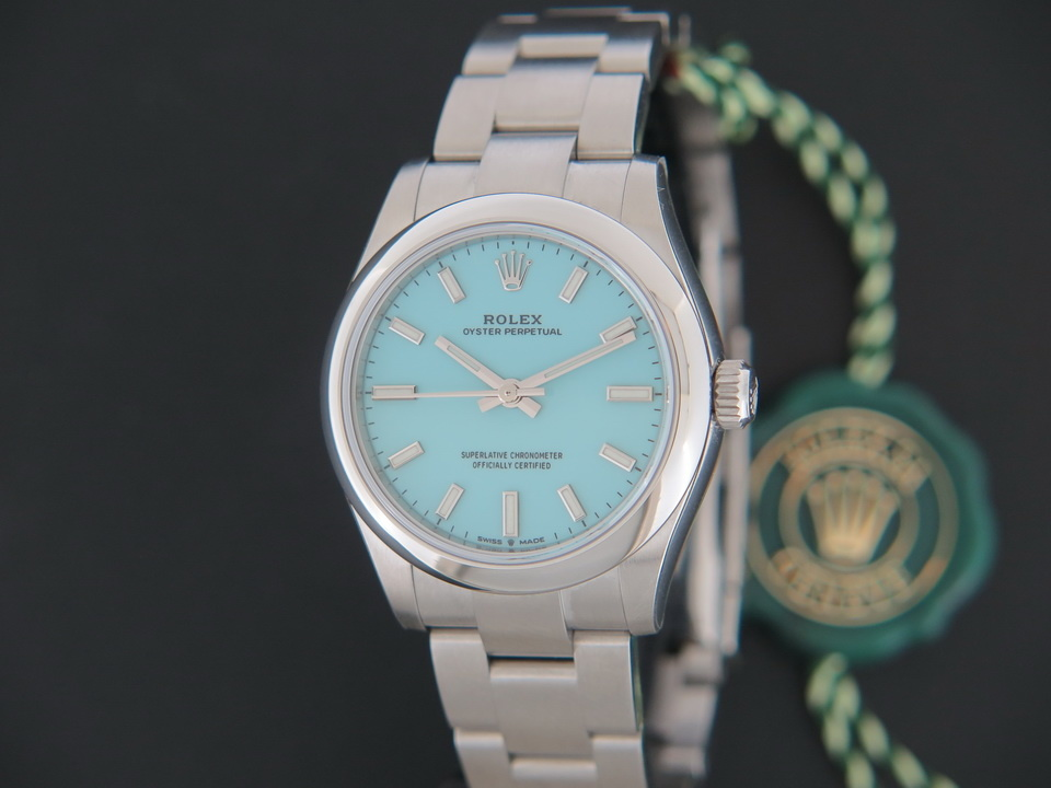 Rolex  Rolex Oyster Perpetual 31 Turquoise Dial 277200 NEW
