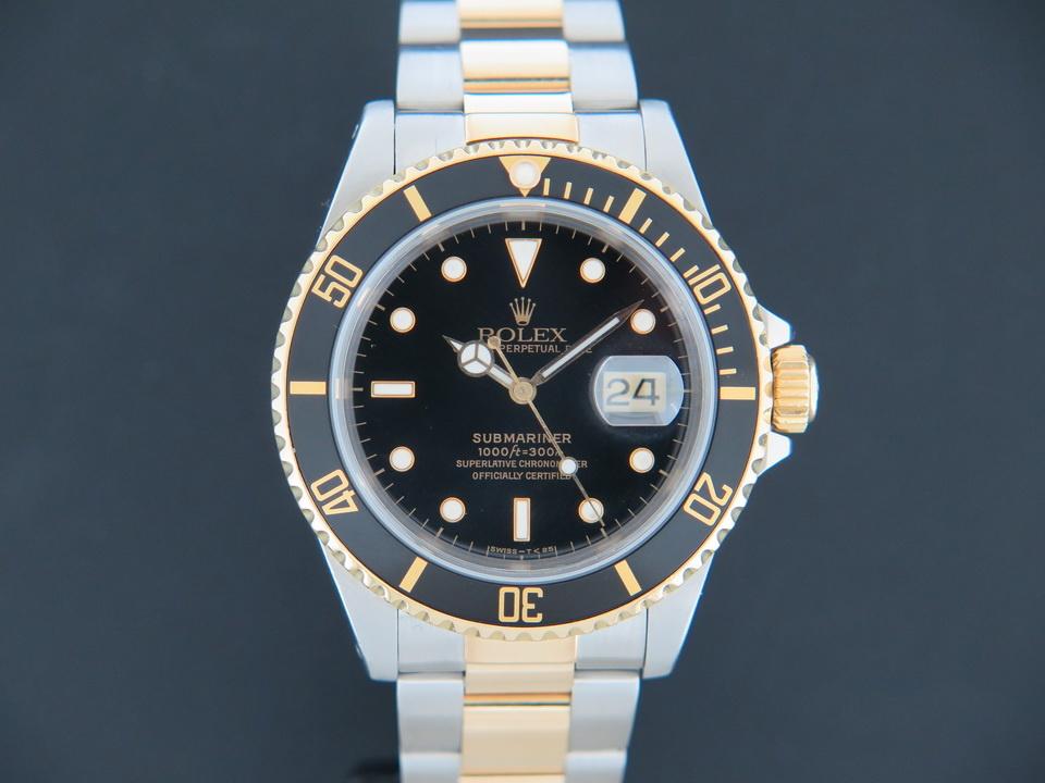 Rolex  Rolex Submariner Date Gold/Steel 16613