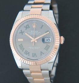 Rolex  Datejust 41 Everosegold/Steel Slate Dial 126331