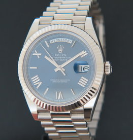 Rolex  Day-Date White Gold 40 Blue Dial 228239