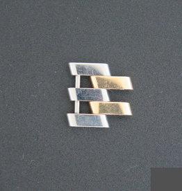 Breitling Pilot Link Steel/Gold 18mm