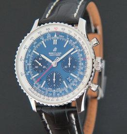 Breitling Navitimer 1 B01 Chronograph Blue Dial NEW AB0121211C1P1