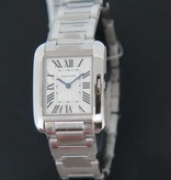 Cartier Cartier Anglaise Steel Ladies Silver Dial 3704