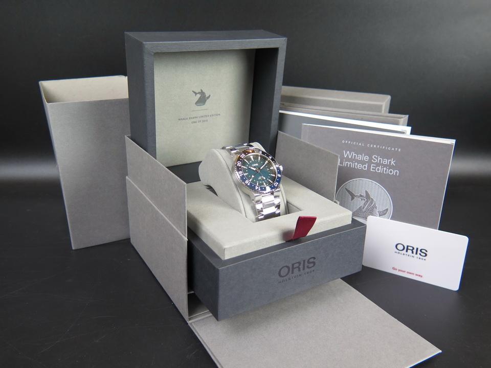 Oris Oris Aquis Whale Shark Limited Edition NEW 01 798 7754 4175
