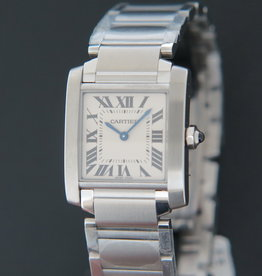 Cartier Tank Francaise MM NEW WSTA0005