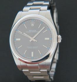 Rolex  Oyster Perpetual 39 Dark Rhodium 114300