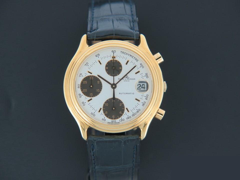 Baume & Mercier Baume & Mercier Baumatic Yellow Gold Chronograph 86103