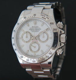 Rolex  Daytona White Dial 116520 Z-Serial