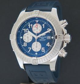 Breitling Super Avenger Blue Dial A13370