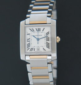 Cartier Tank Française GM Automatic Gold/Steel 2302