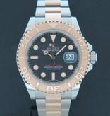 Rolex  Rolex Yacht-Master Everosegold/Steel Black  Dial 116621