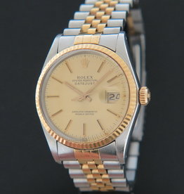 Rolex  Datejust 16013  Champagne Dial FULL SET
