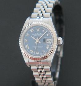 Rolex  Datejust Lady Blue Roman Dial 79174