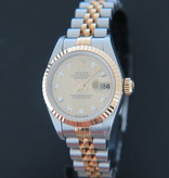 Rolex  Rolex Datejust Lady Gold/Steel Champagne Diamond Dial 69173