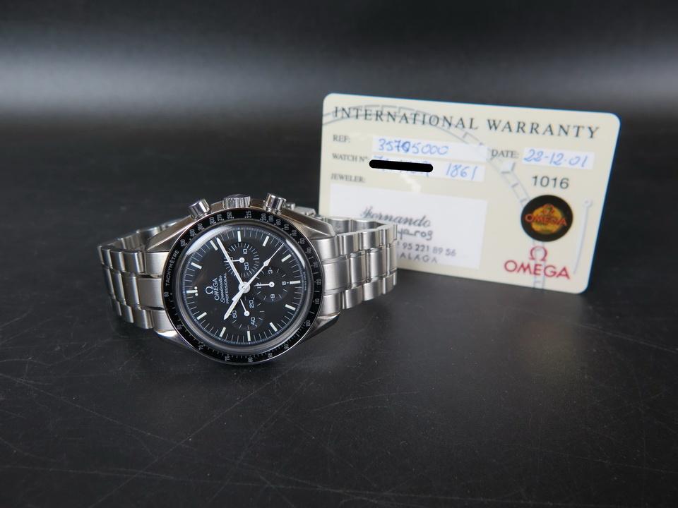 Omega Omega Speedmaster Professional Moonwatch 35.70.50.00