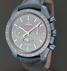 Omega Speedmaster Moonphase Co-Axial Master Chronometer Blue Side Of The Moon