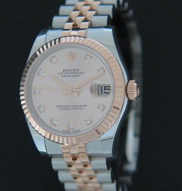 Rolex  Datejust Everosegold/Steel Diamond Dial 178271