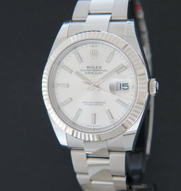 Rolex  Datejust 41 Silver Dial NEW 126334