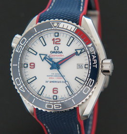 Omega Seamaster Planet Ocean 600m America's Cup 2021 Limited Edition