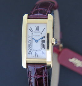 Cartier Tank Americaine SM Yellow Gold NEW W2601556