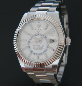 Rolex  Sky-Dweller White Dial NEW 326934
