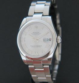 Rolex  Datejust Rhodium Roman Dial 178240