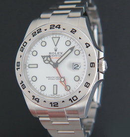 Rolex  Explorer II White Dial 216570 NEW