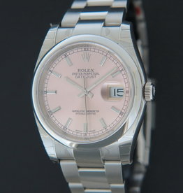 Rolex  Datejust NEW 116200 Pink Dial  FULL STICKERS