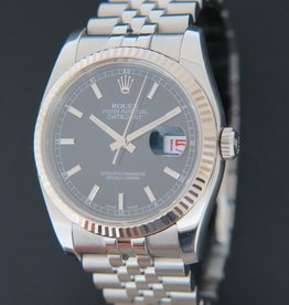 Rolex  Datejust Black Dial 116234 G-serial