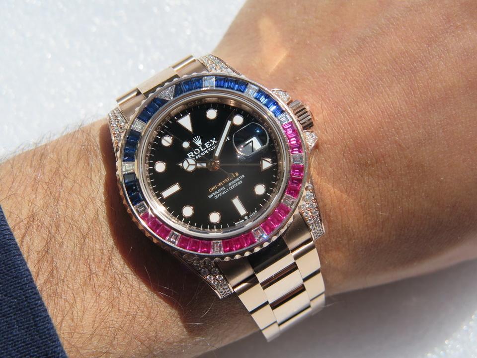 Rolex  Rolex GMT-Master II EVEROSE 126755SARU