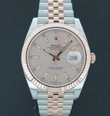 Rolex  Rolex Datejust 41 Everosegold/Steel Sundust Dial 126331 NEW