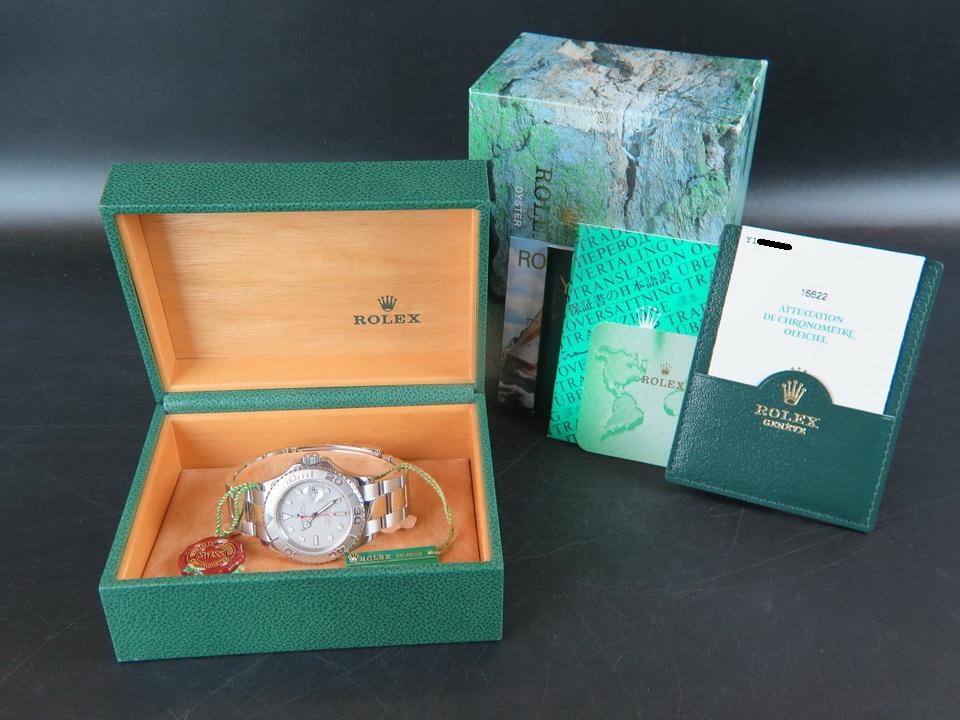 Rolex  Rolex Yacht-Master 16622 Platinum Dial