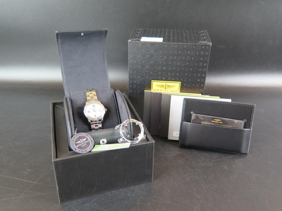 Breitling Breitling Colt 33 Silver Dial A7738711