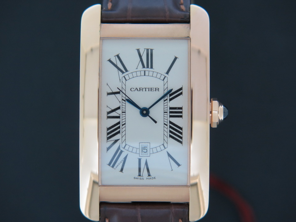 Cartier Cartier Tank Americaine Rose Gold Large W2609156 NEW