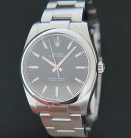 Rolex  Oyster Perpetual 34 Black Dial 114200