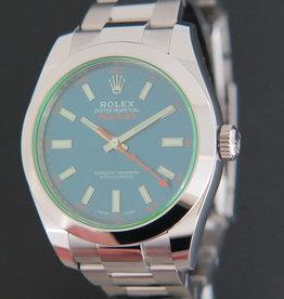 Rolex  Milgauss GV Z-Blue NEW 116400GV