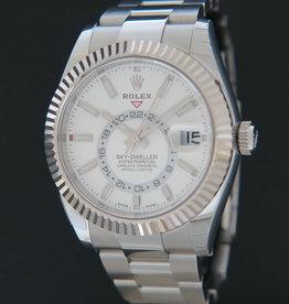 Rolex  Sky-Dweller White Dial NEW 326934