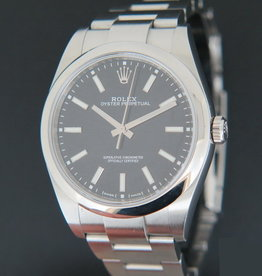 Rolex  Oyster Perpetual 34 Black Dial 124200 NEW MODEL