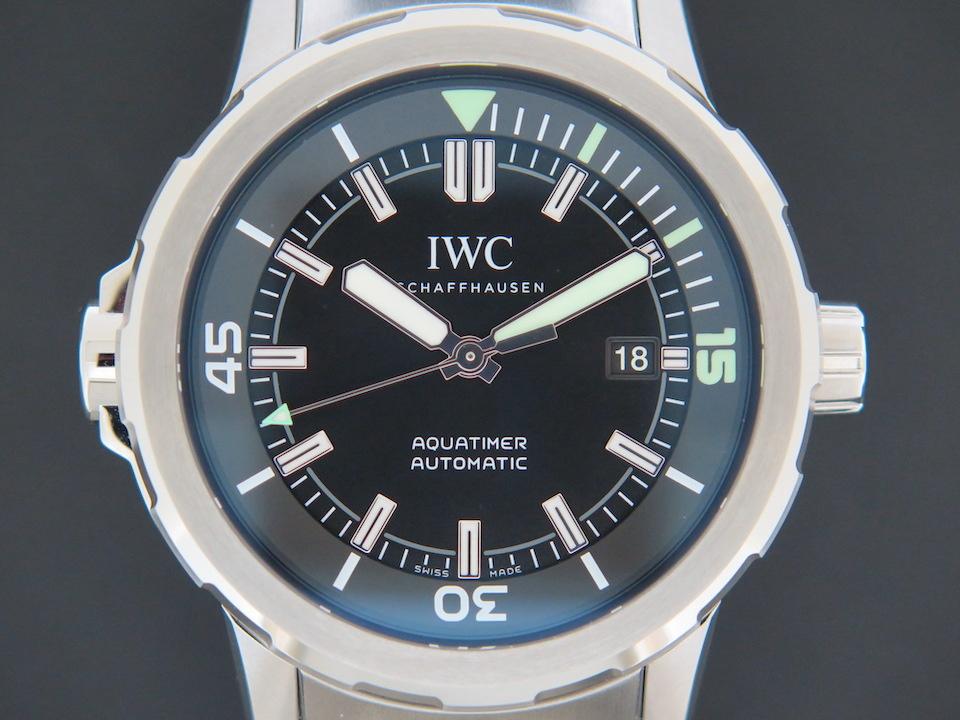 IWC IWC Aquatimer Automatic Black Dial IW329002